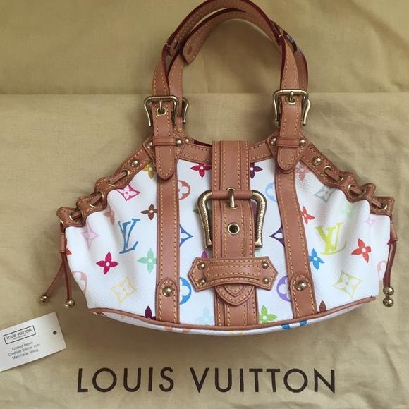 Louis Vuitton Handbags - Louis Vuitton Multicolore Theda PM Bag